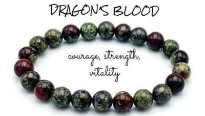 Dragons Blood 8mm Bracelet