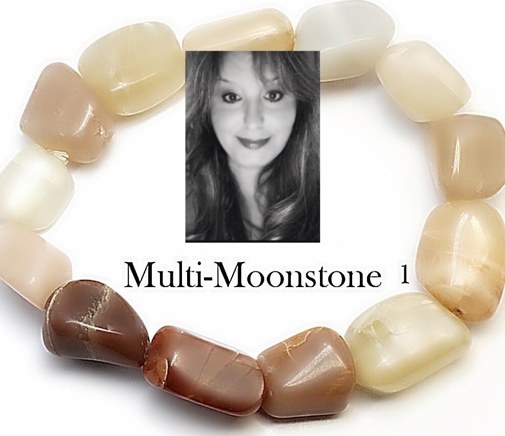Multi-Moonstone Bracelet