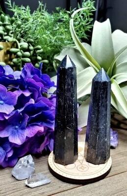 Black Tourmaline 7-8 Inch Point