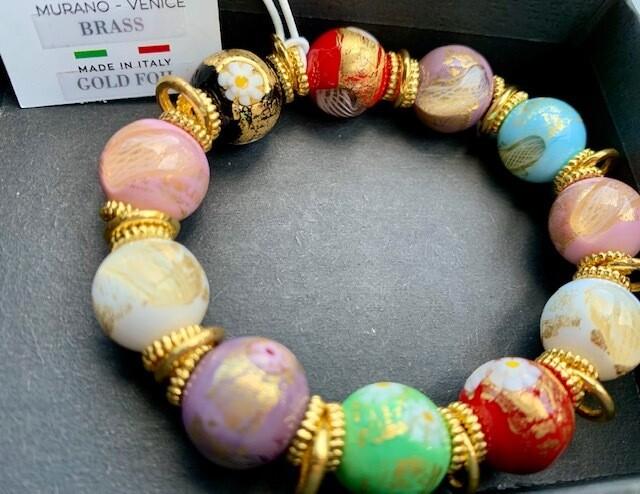 Genuine Murano Glass Bracelet