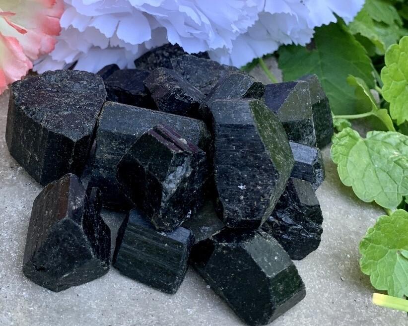BACK AGAIN! - Black Tourmaline Small Chunks