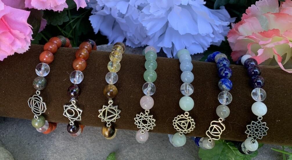 Chakra Bracelet Set - All 7 & Free Shipping!