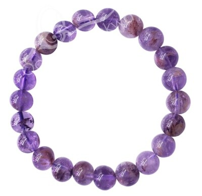 Super 7 BEAD Bracelet 8MM. FREE SHIPPING THIS WEEK.