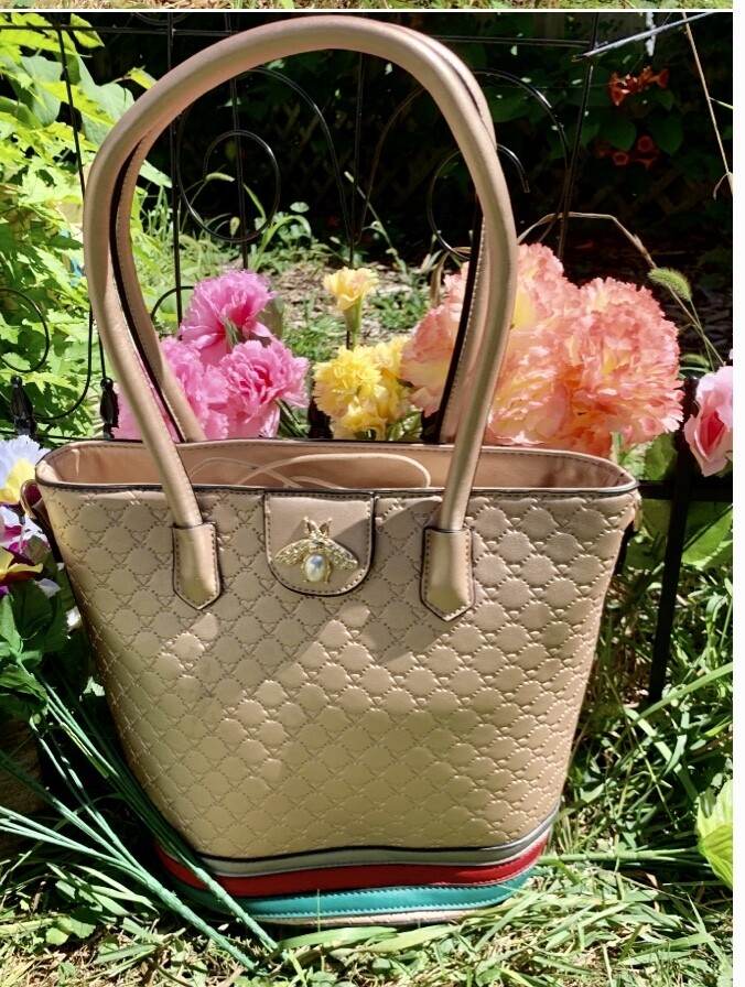Rose Gold Bumble Bee Tote Package