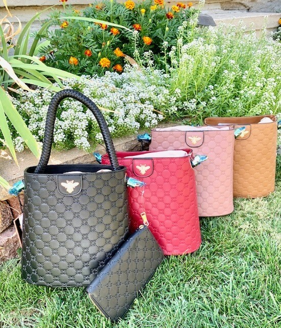 Pick Your Color - Purse w/FREE Wallet
