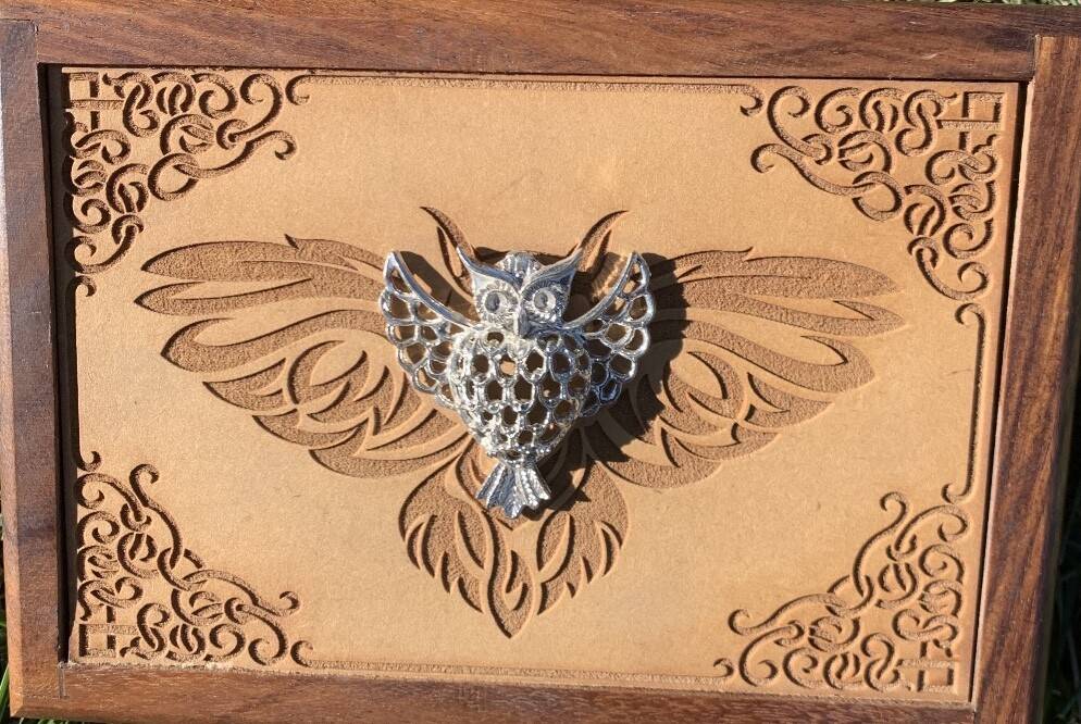 Owl Wooden Box