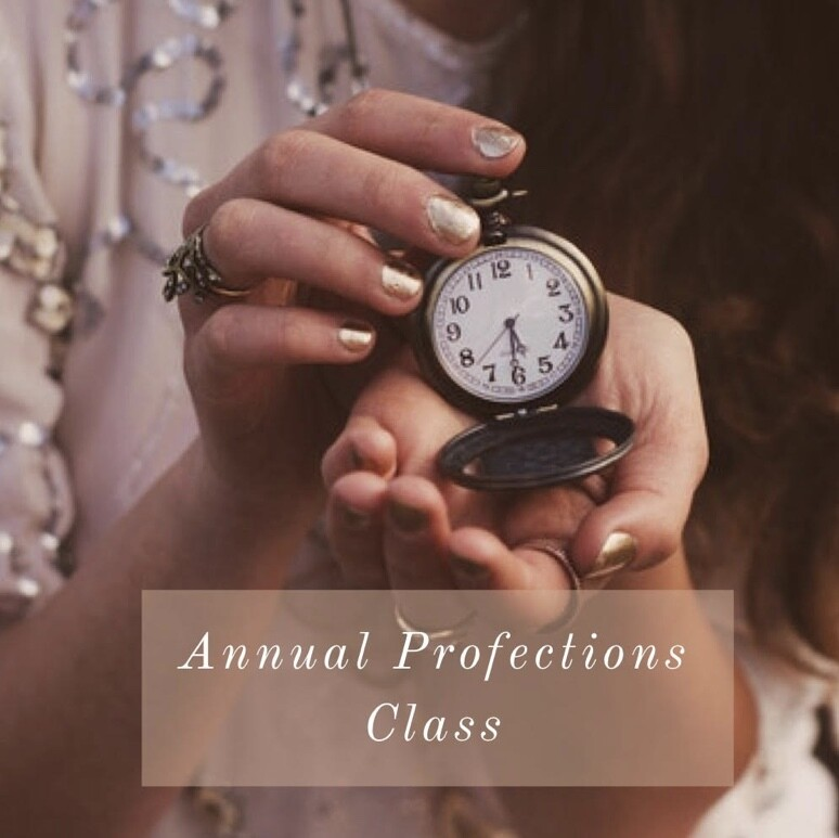Maria's Profection Webinar - Sept 25th 7PM CST