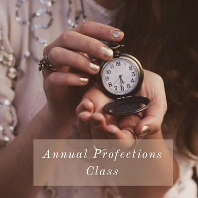 Maria's Profection Webinar - Sept 25th 7PM CST