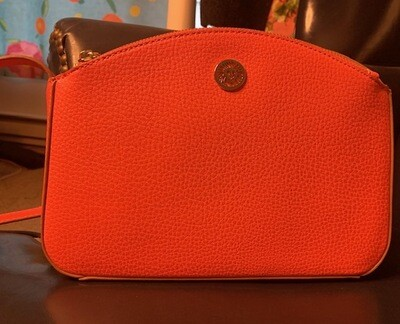 Anne Klein Hot Coral Cross-body