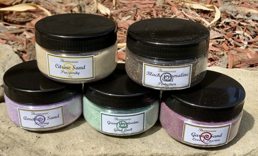 Gemstone Sand - Large Jars