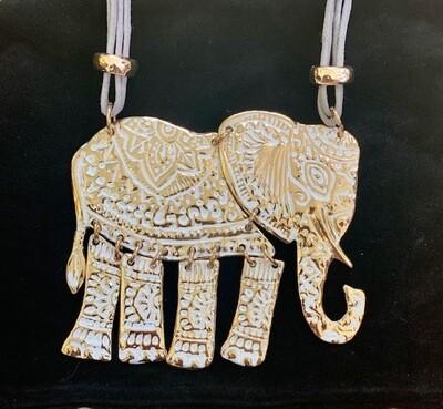 Elephant Necklace - Artist Designed