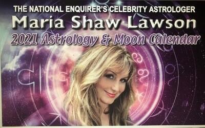 Maria Shaw's 2021 Calendar