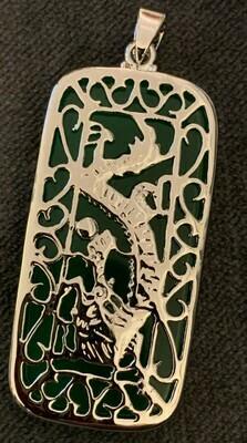 Jade Power Dragon Pendant