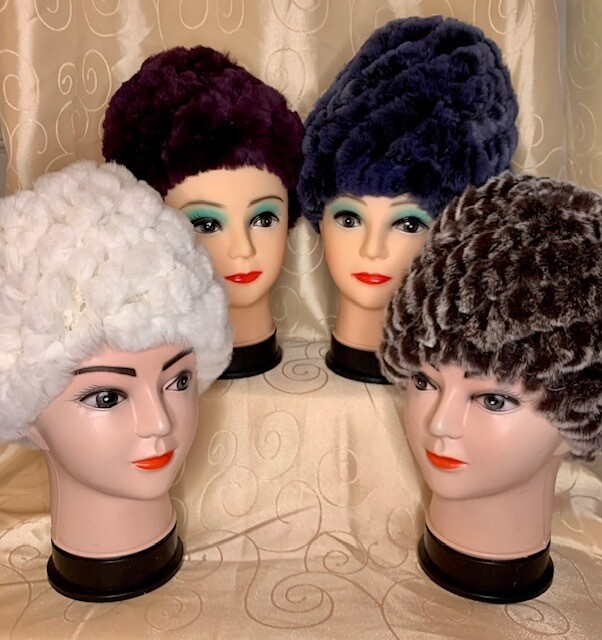 Rex Rabbit Fur Hats