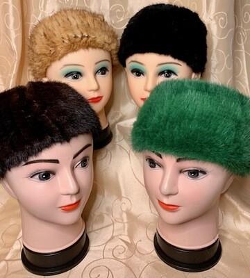 Genuine Mink Head Bands.