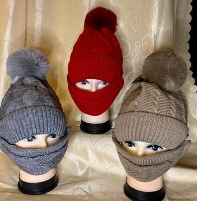 Warm Hats & Matching Masks
