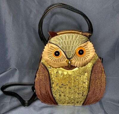 Brown Owl Purse