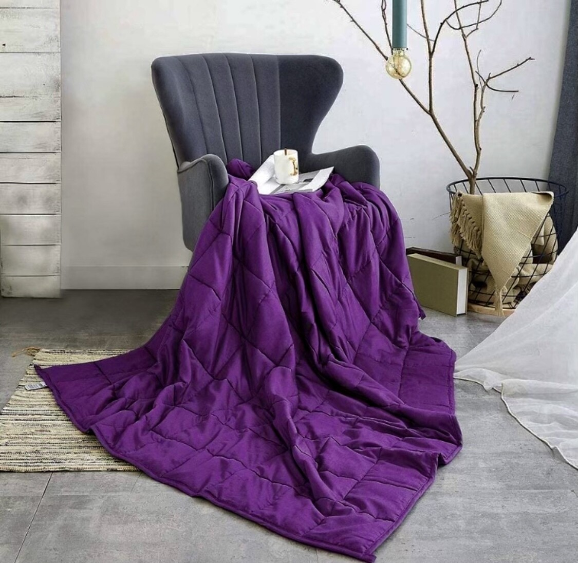 Shungite Weighted Blanket/Comforter Save $100. Now $299. Get 2 free shungite gifts with purchase