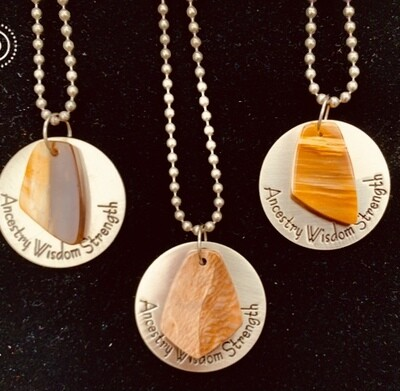 Wisdom & Strength Unisex Necklaces