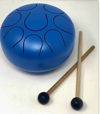 Blue Happy Drum