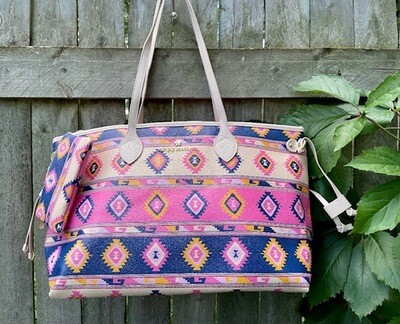 Southern Comfort Tote Bag w/Coin Purse