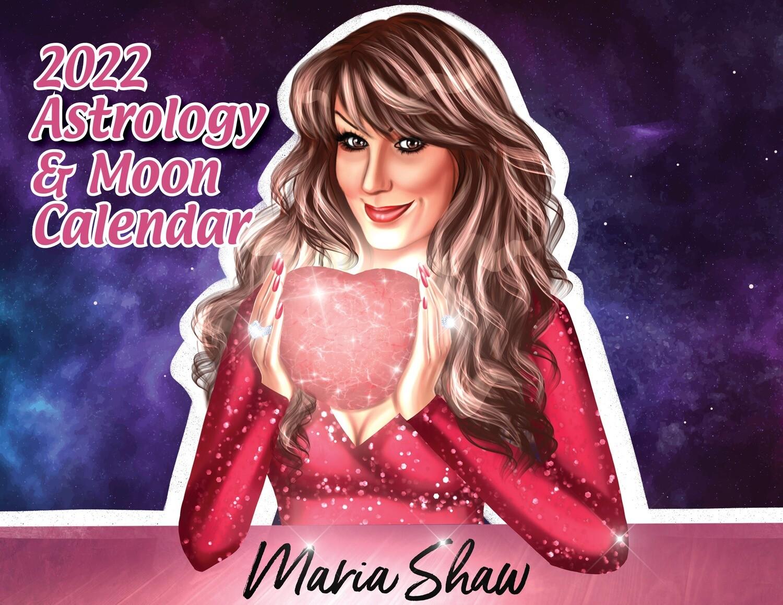 Maria's 2022 Moon Calendar