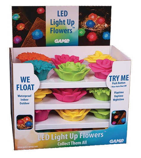 Led Light up Flowers - assorted colors
