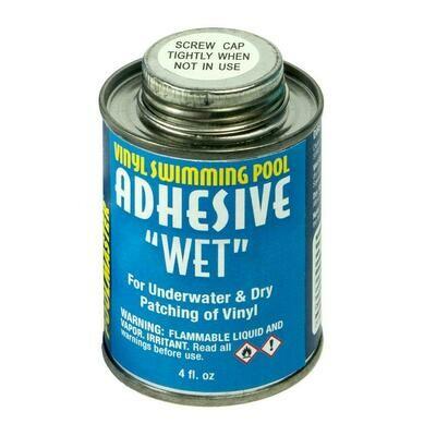 Wet Vinyl Adhesive - 4oz