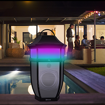 Acoustic Research Saratoga Outdoor Weather Resistant Bluetooth Speaker