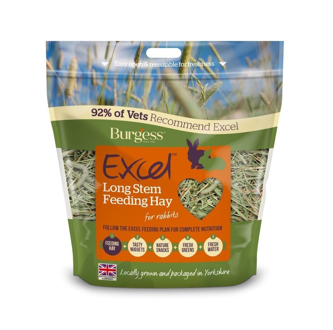 Burgess Timothy Long Stem Feeding Hay 1kg (coming 18/12)