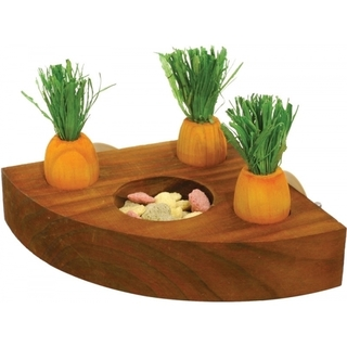 Rosewood Boredom Breaker Carrot Toy 'n' Treat Holder