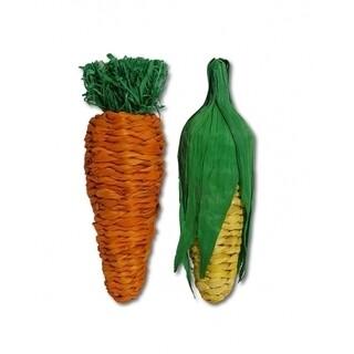 Rosewood Boredom Breaker Jumbo Play Veg Carrot & Corn