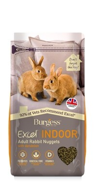 Burgess Excel Indoor Rabbit Pellets 1.5kg