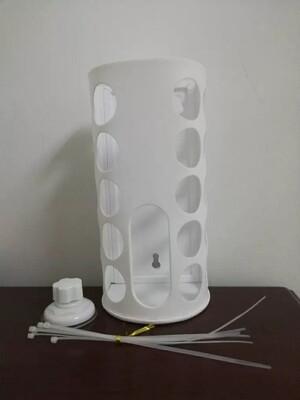 Plastic Hay Rack (WHITE)