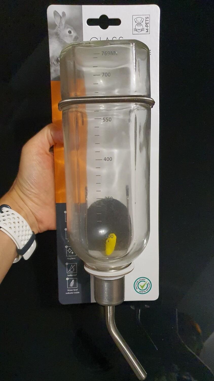 Glass Drinking bottle 769ml