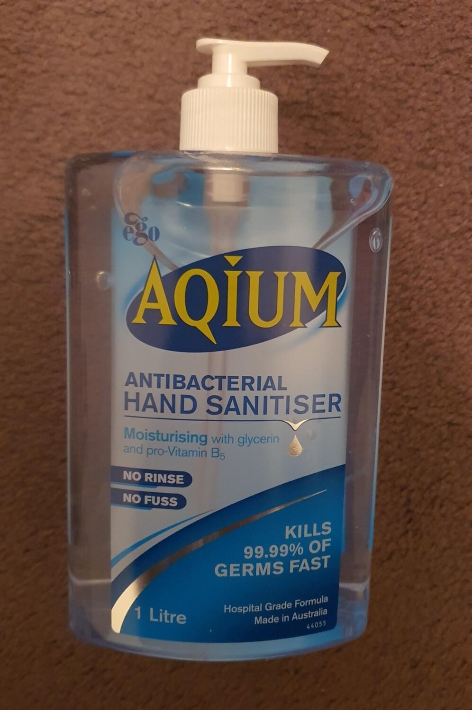 AQIUM EGO Hospital Grade Hand Santiser 1L