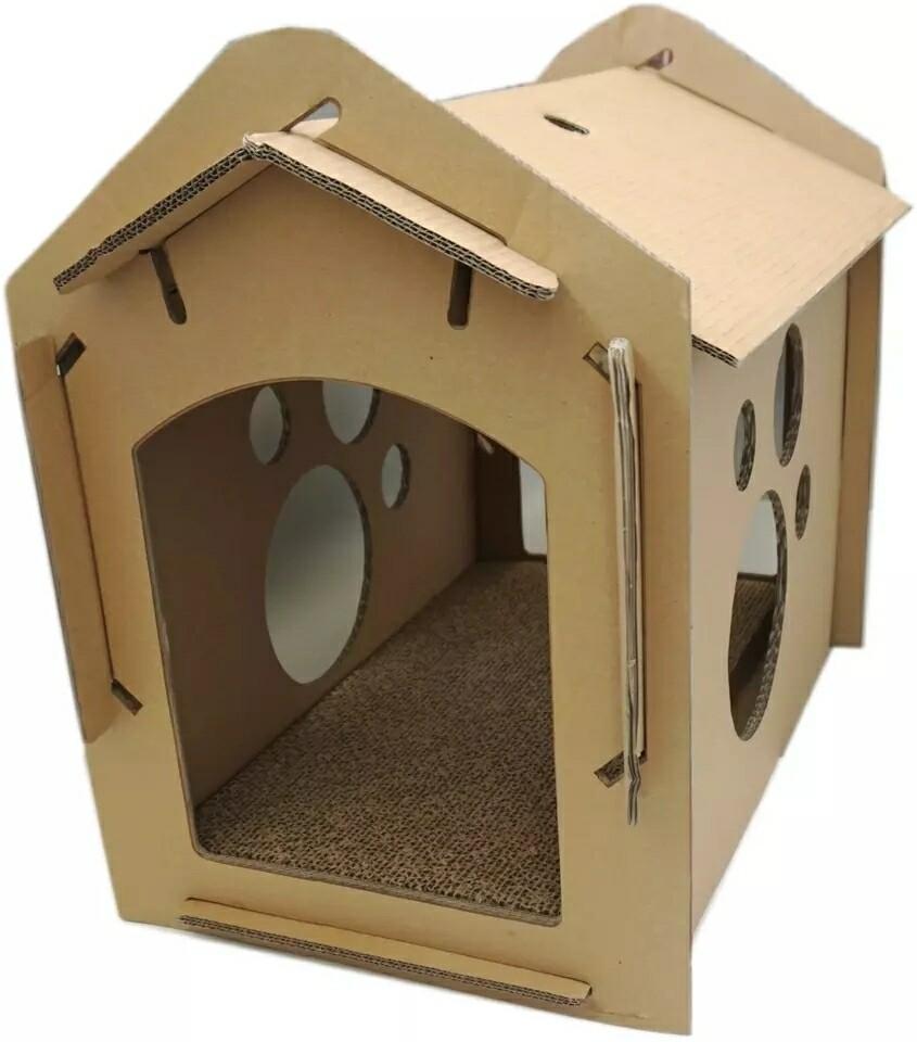 Cozy Cardboard House