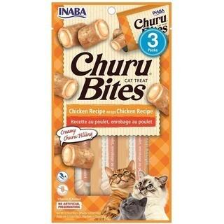 Cat Treat/Snack Inaba- Churu Bites Chicken Recipe warps Chicken Recipe