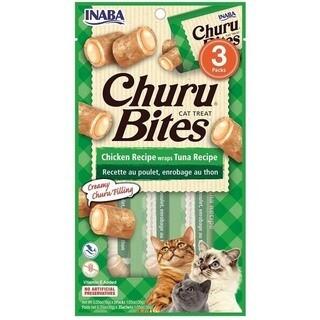Cat Treat/Snack Inaba- Churu Bites Chicken Recipe wraps Tuna Recipe
