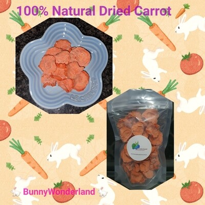 Dried Carrot 50g (100% Australian)