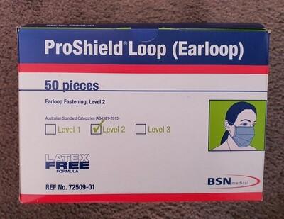 Proshield Earloop Level 2 mask (Made in Australia)
