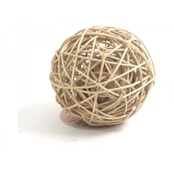 Rattan Wobble Ball (Large)
