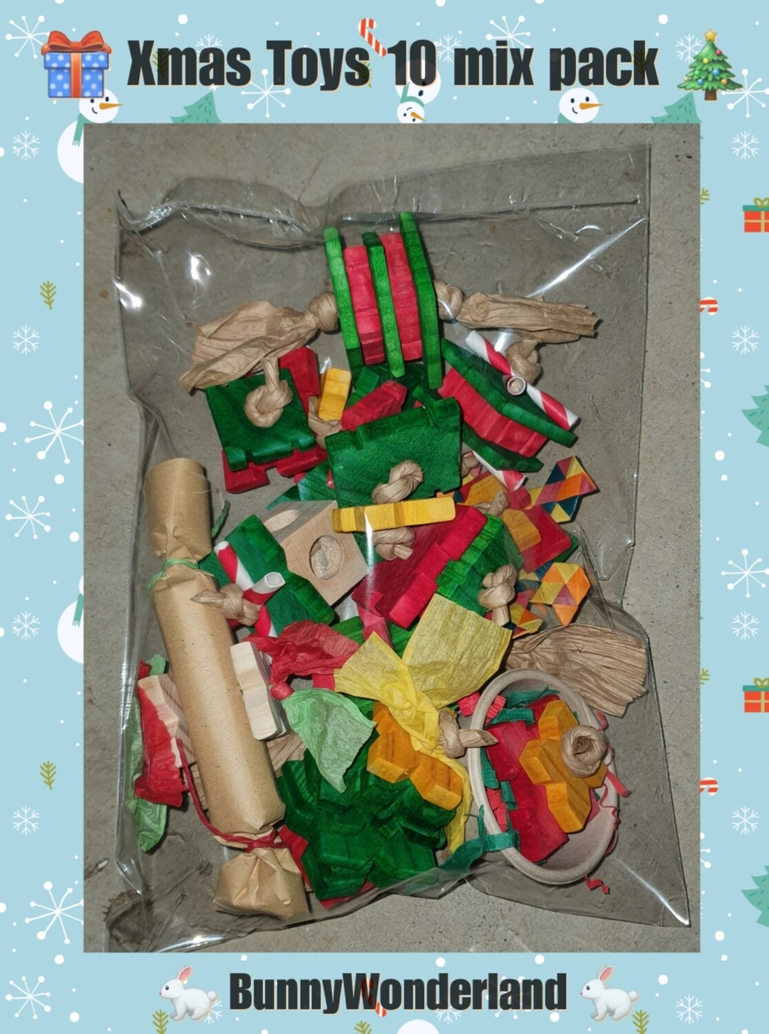 Xmas Toy 10 pc mix pack