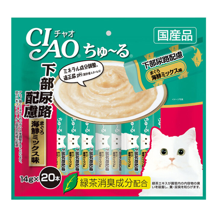 Cat Ciao - Urinary care Tuna Seafood mix (20pcs/pk)
