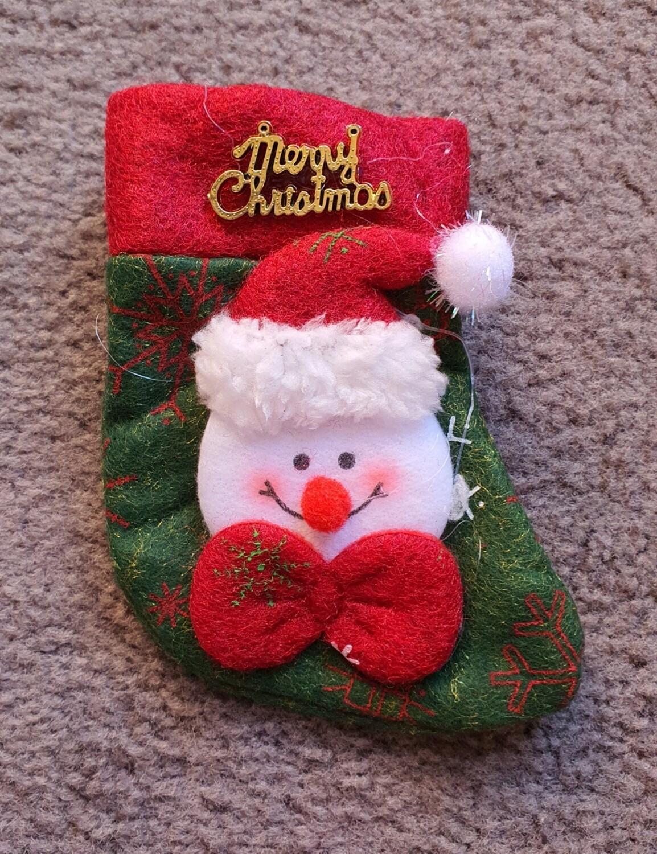 Mini Xmas Stocking B