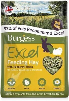 BURGESS EXCEL FEEDING HAY WITH HEDGEROW HERBS 3KG BAG