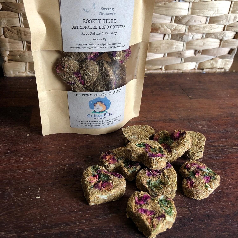Cleo's Rose Petal Cookies
