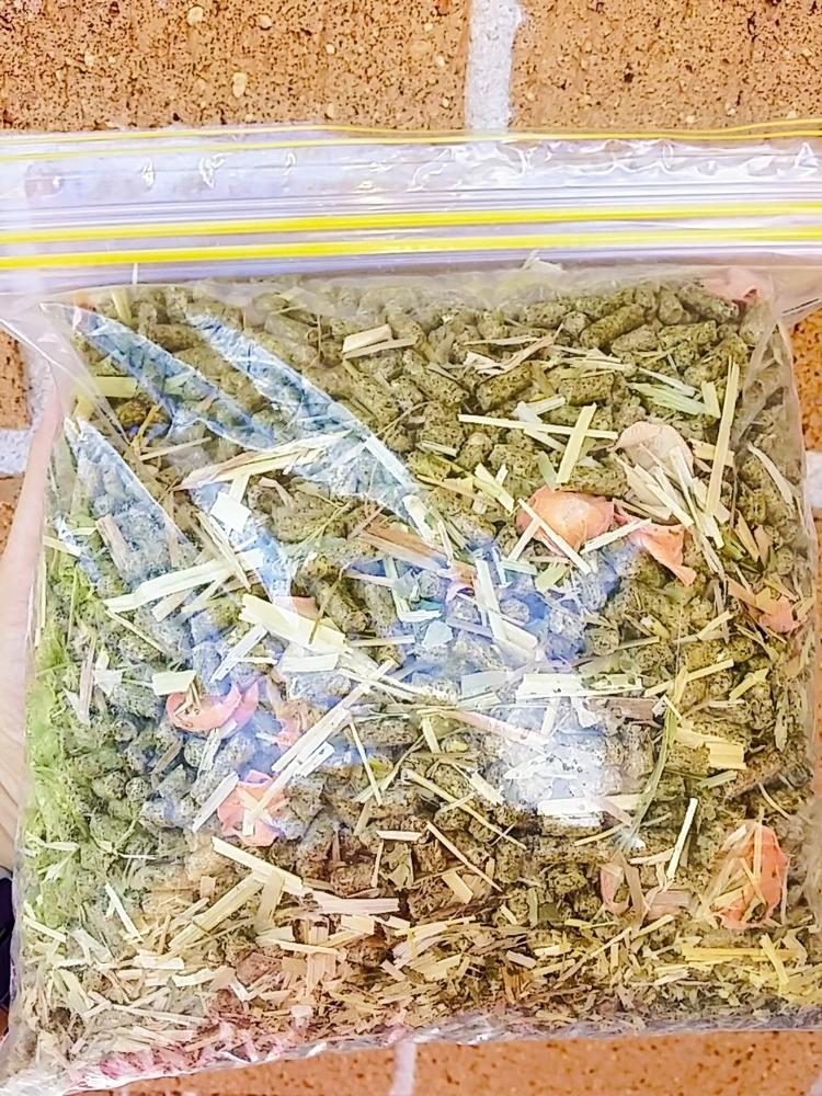 Herbal Pellet Blend 2kg (Carrots, Parsley, Dandelion)