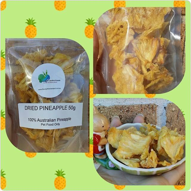 Natural Dried Pineapple 50g