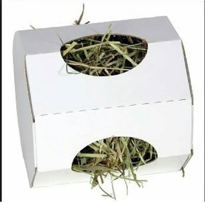 Cardboard Hay Tumbler Bunnies/Rabbits/Guinea Pigs